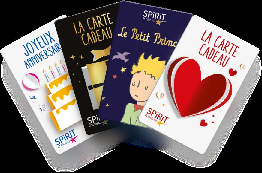 Spirit Of Cadeau Cartes Cadeaux Pour Toutes Occasions